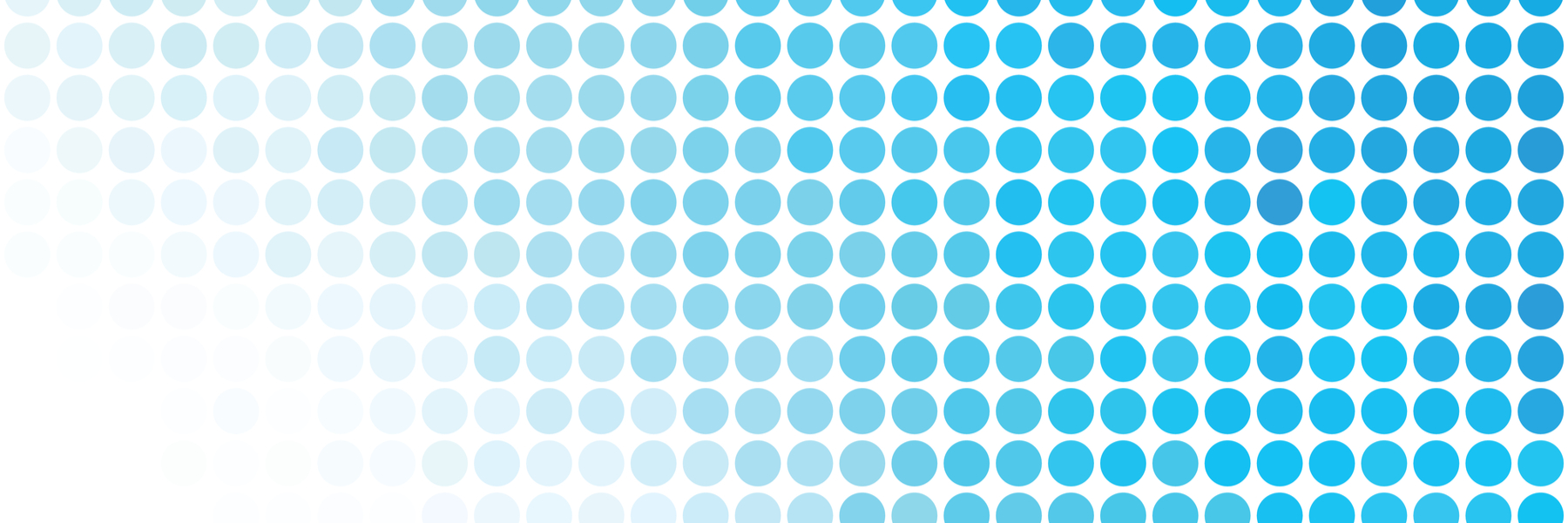 Pattern of blue dots.