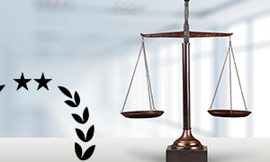 scales of justice, award